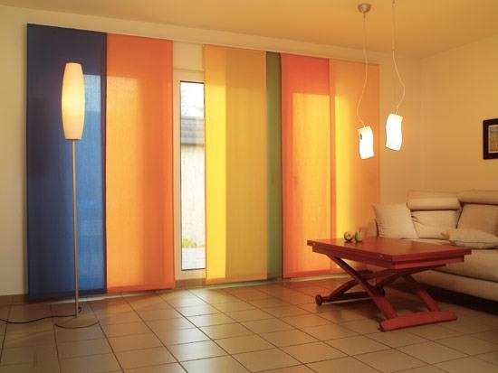 Картинки по запросу японские шторы фото в интерьере