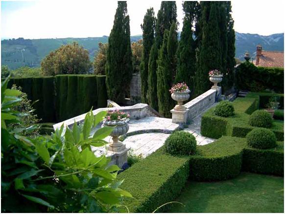 Ландшафтный дизайн итальянский сад
