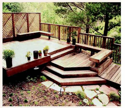 Терраса как важный элемент сада
