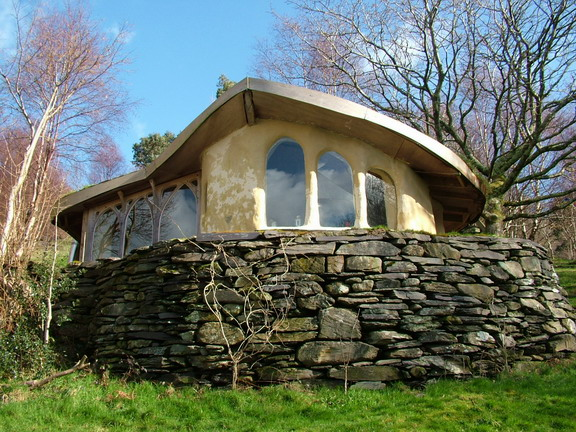 Экологически чистый глинобитный дом