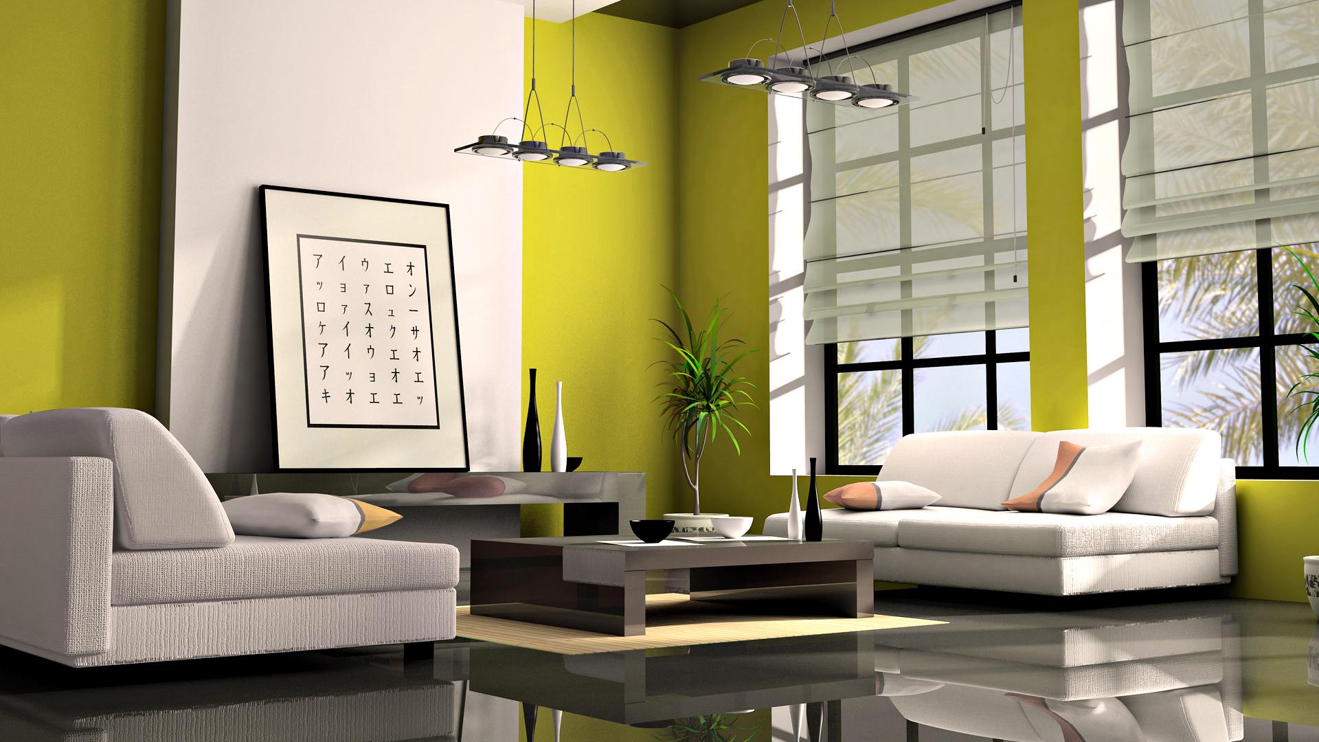Интерьер в японском стиле и мебель