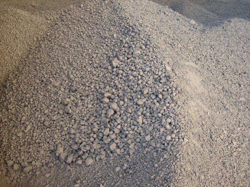 Минеральное вяжущее в бетонной смеси