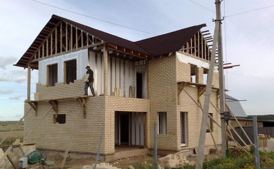 Как мы строили дом своими руками фотоотчет
