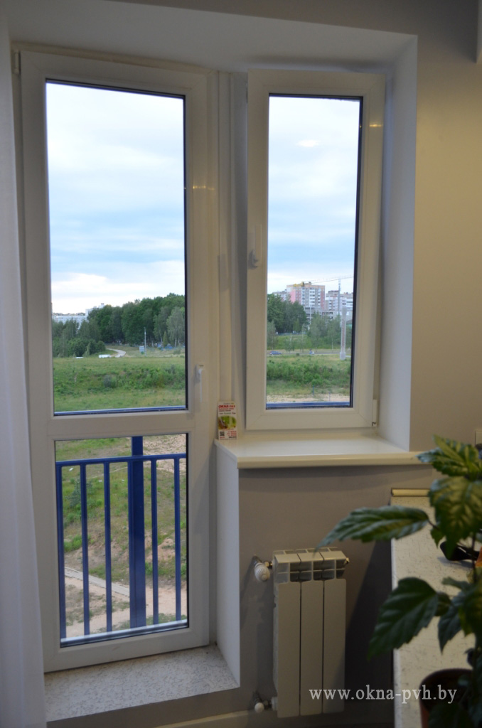 Ремонт окон дверей пвх. - изготовление и установка - окна, б.